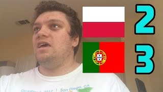 Poland vs Portugal(2-3) Piatek and Blaszczykowski GOALS REACTION! 2018-2019 Euro Nations League