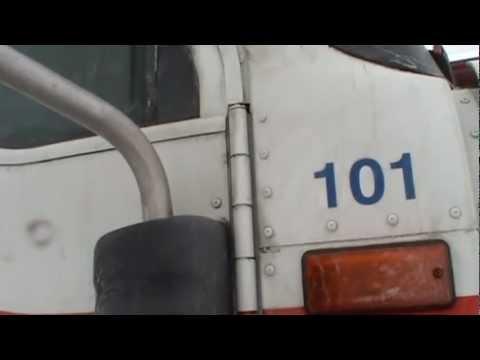 Cabina International 9400i : Cb truck instalation international 9400 le spécialiste du cb youtube