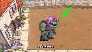 - Plants vs Zombies Chomber and Gatling Pea vs Peashooter Zombies