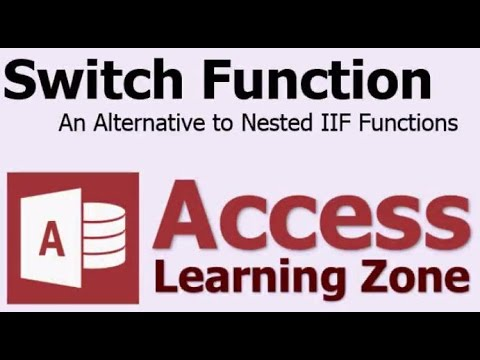 Microsoft Access Switch Function - Alternative to Nested IIF