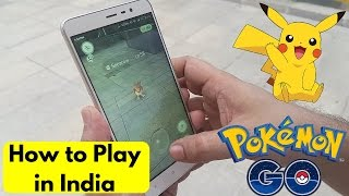 How to play Pokemon Go in India | Gameplay