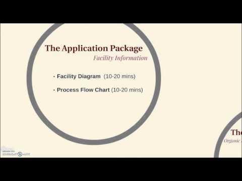 Organic Pre-Certification Process - Processors/Handlers