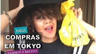 Compras em Tokyo   Make-up e Fashion