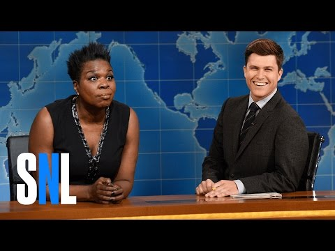 Weekend Update: Leslie Jones on Being Hacked - SNL