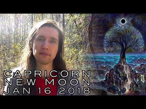 Capricorn New Moon January 16th 2018 - Laying Ground & Finding Support to Get What We Truly Need