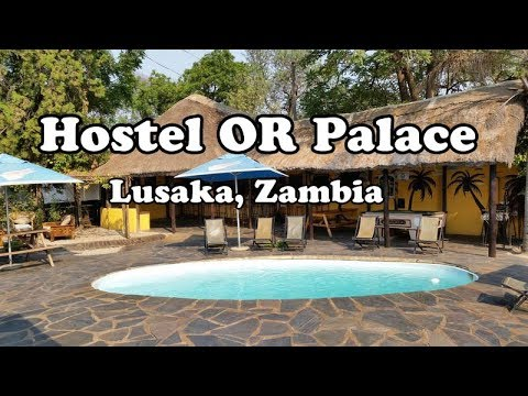 Tour of My Luxury Hostel in Zambia | $10 Hostel is LIKE a Palace
