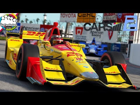 PROJECT CARS 2 - IndyCar @ Long Beach - Let's Play Project CARS 2