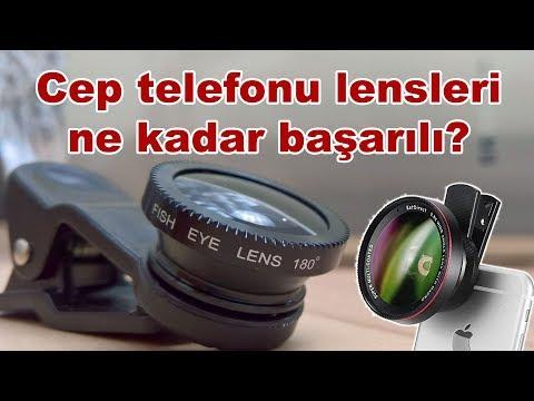 Cep telefonu kamera lensi incelemesi