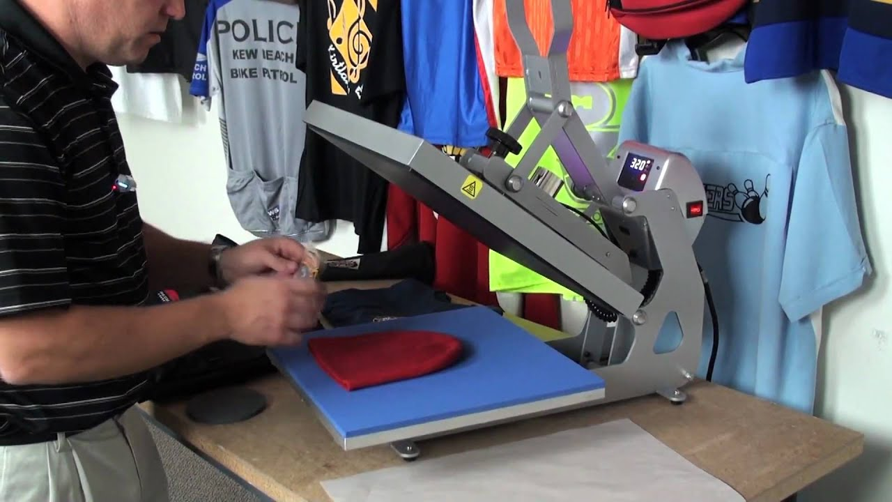 Producing Heat Press Transfers With A Solvent Printer