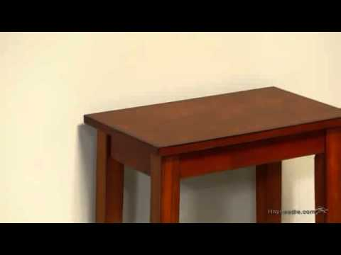 Turner Chair Side Table Oak Product Review Video Youtube