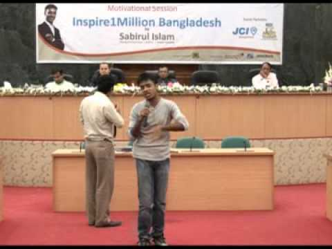 Motivational Session by Sabirul Islam Organized by Dhaka University