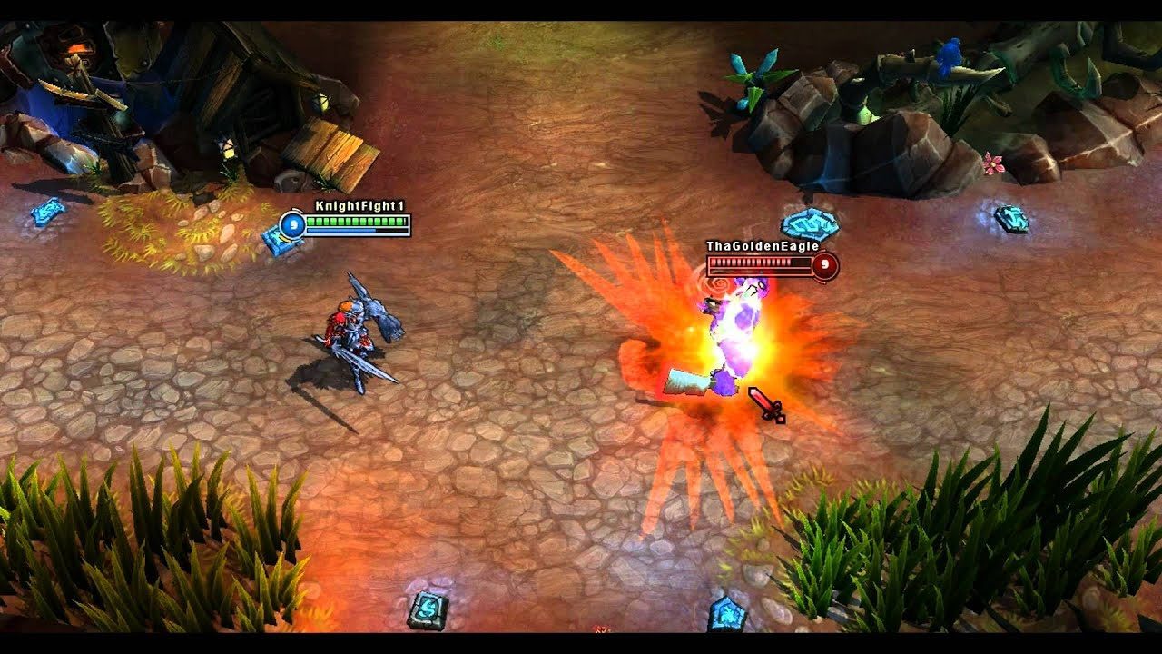 Iron solari leona in game