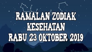Ramalan Zodiak Kesehatan Rabu 23 Oktober 2019