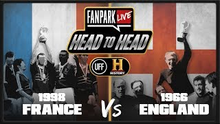 Who Was The Best Host Country Performance, France 98 or England 66 - FanPark Head To Head HISTORY