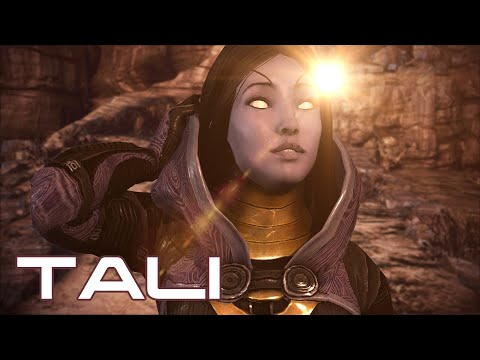 Tali's Face Reveal SECRET Cinematic [60fps]