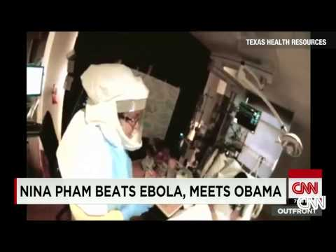 Dallas nurse cured of Ebola, goes home