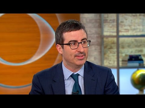 John Oliver on success of