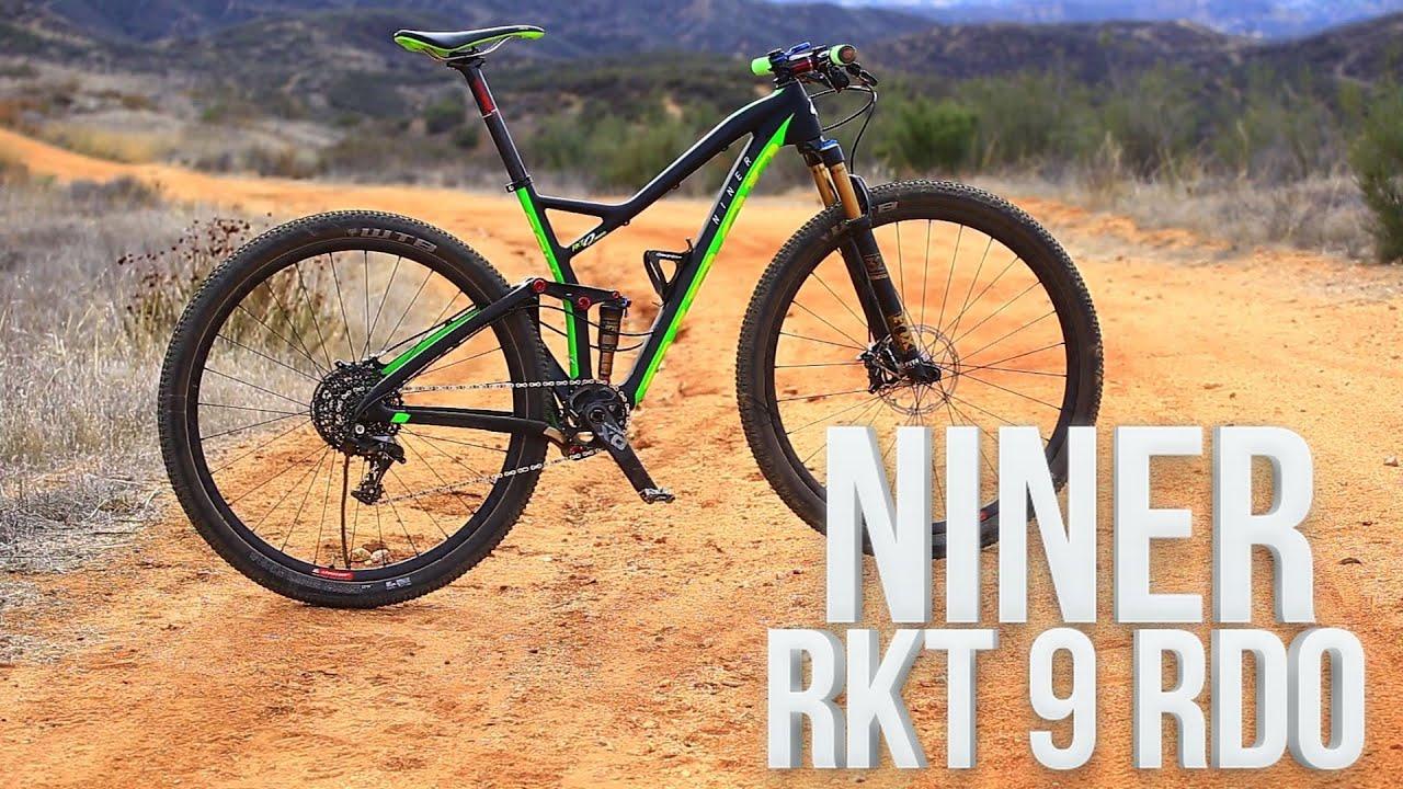 Testing the NINER RKT 9 RDO - Mountain Bike Action Magazine - YouTube