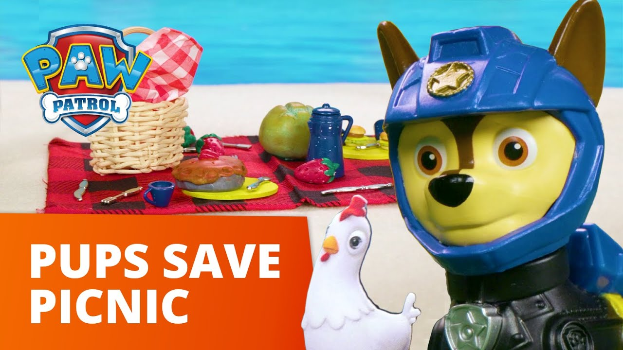 Download PAW Patrol Moto Pups Save a Beach Picnic! - Toy Episode - PAW Patrol Official & Friends