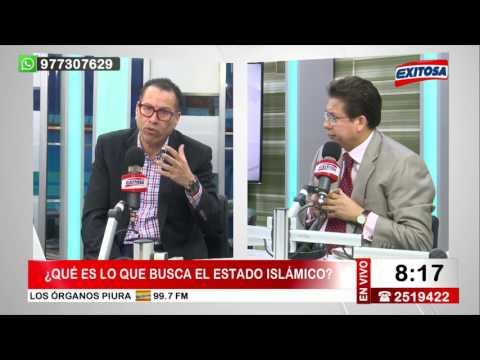 Phillip Butters Entrevista a Miguel Rodríguez Mackay Tema: Últimos atentados de ISIS