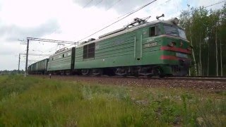 Russian Railways Typical Freight Train