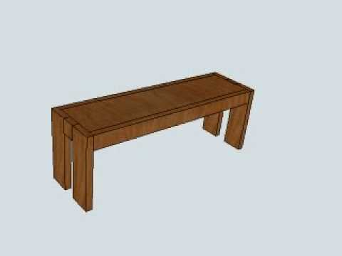 West Elm Modern Farmhouse Table Bench Seatingavi YouTube - Farm table with bench seating