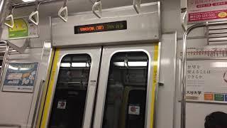 【減少中‼︎】京都市営地下鉄東西線 50系未更新車 LED案内表示器