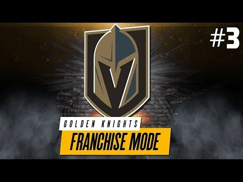 NHL 18: Mode Franchise ''Vegas'' #3 - BEAUCOUP D'ÉCHANGES!