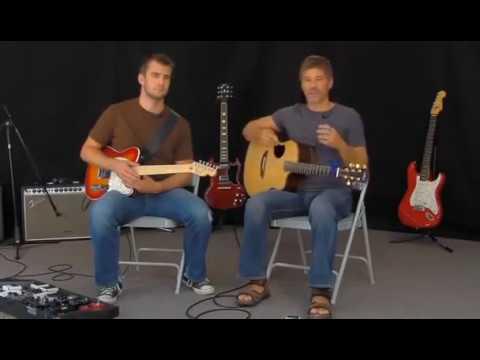 Уроки гитары  Ben Gowell, Paul Baloche