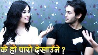 Pradeep ले Jashita थर्काए ! तरपनि भनिन् I love You   Ramailo छ with Utsav Rasaili
