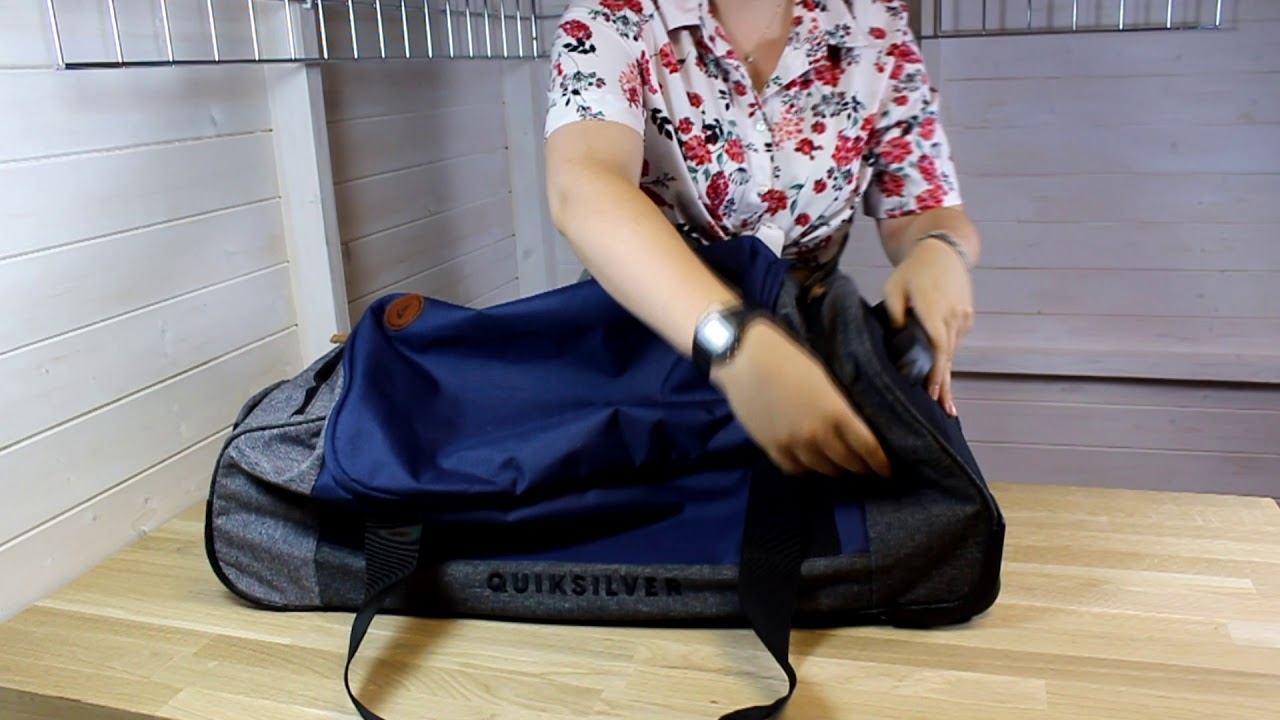 Quiksilver New Centurion Wheeled Luggage in Medieval Blue Heather ... b347239da34cd