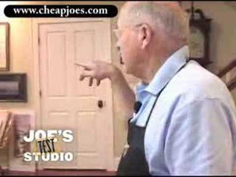Cheap Joe Miller of Cheap Joe's Art Supplies Studi...