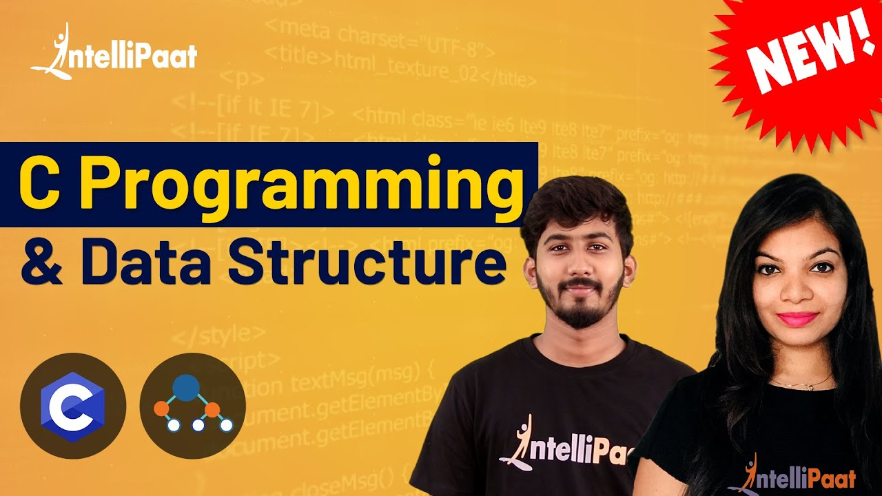 C Language For Beginners | Learn C Programming | C Tutorial For Beginners | Intellipaat