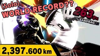 Whats the Furthest Distance Possible in the Home Run Contest? - Smash Bros. Ultimate
