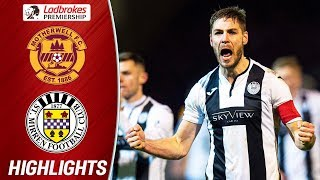 Motherwell 1-2 St. Mirren | İlkay Durmuş Scores Stunning Late Volley! | Ladbrokes Premiership