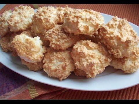 Печенье из кокосовой стружки БЫСТРЫЙ и ЛЕГКИЙ рецепт