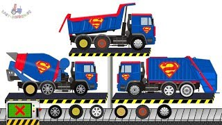 Dump Truck & Garbage Truck | Concrete Mixer Truck & Street vehicles | Maszyny - Budowa