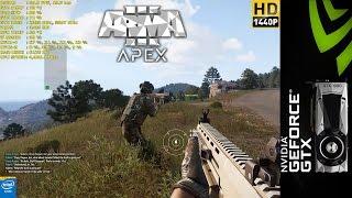 ARMA III APEX Preview Ultra Settings 1440P | GTX 1080 FE | i7 5960X 4.4GHz