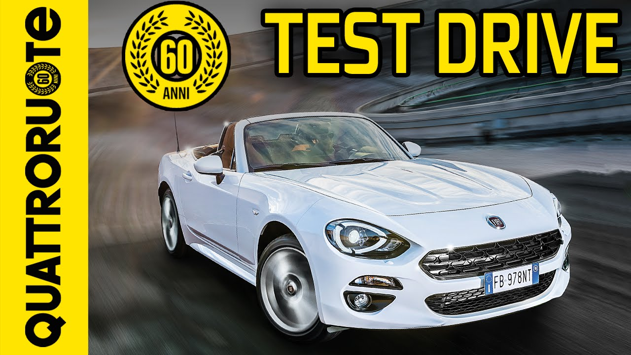 fiat 124 spider 2016 test drive exclusive youtube. Black Bedroom Furniture Sets. Home Design Ideas