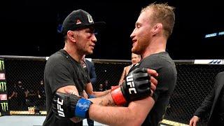 UFC 249: Entrevista no octógono com Justin Gaethje e Tony Ferguson