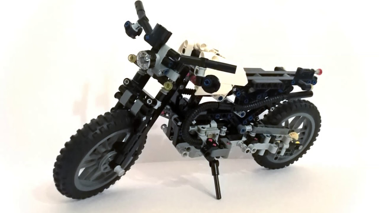 lego bmw r 1200 gs scrambler based on set 42063 youtube. Black Bedroom Furniture Sets. Home Design Ideas