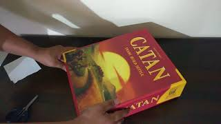 Mayfair Games Catan 5th Edition Unboxing