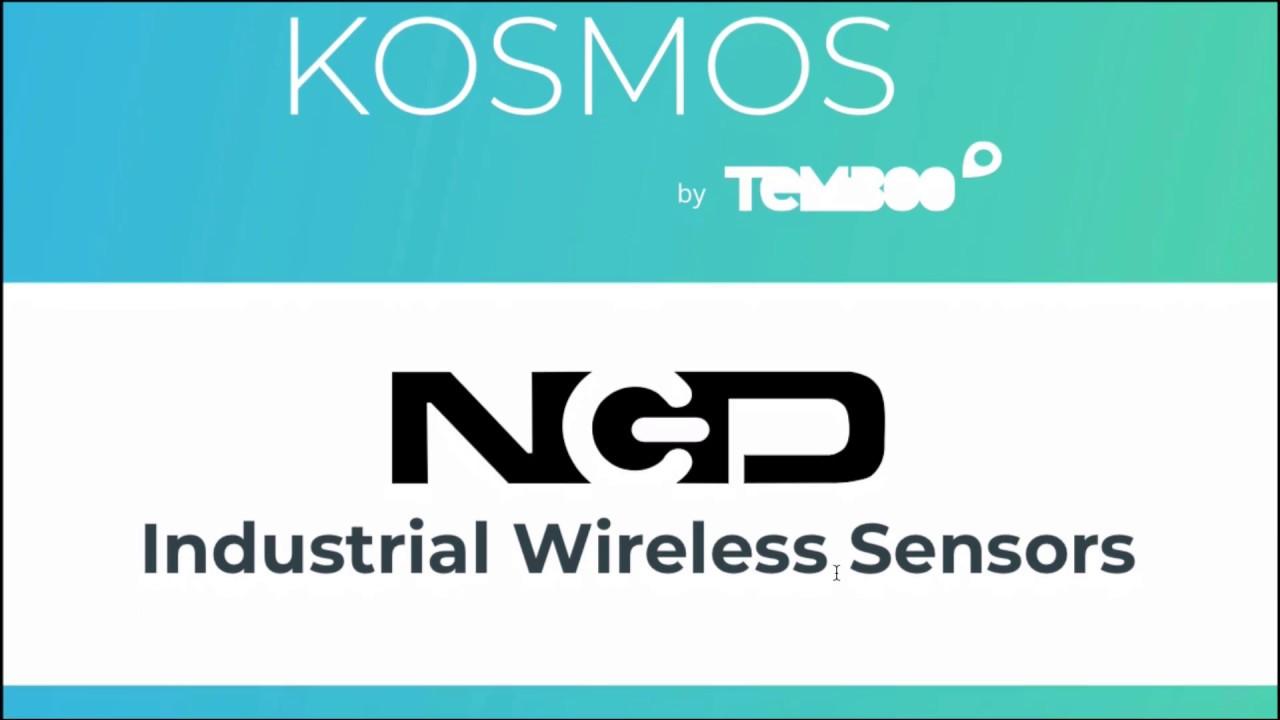 NCD Industrial Sensors and Kosmos IoT