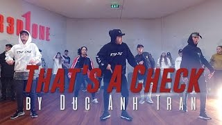 "Future ""THAT'S A CHECK"" Choreography by Duc Anh Tran @Future @DukiOfficial"