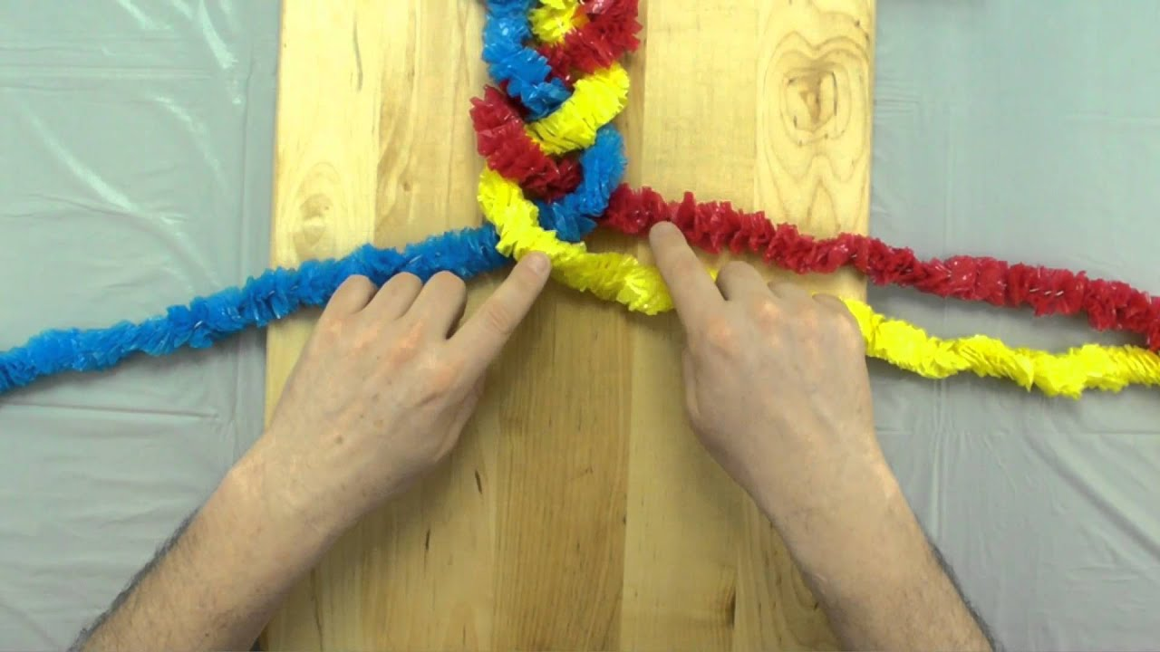 How To Braid 3 Strands Youtube