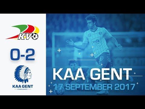 🎬  KV Oostende - KAA Gent (0-2)