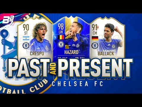 PAST AND PRESENT CHELSEA SQUAD BUILDER! | FIFA 19 ULTIMATE TEAM