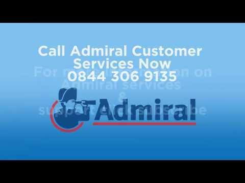 Admiral Customer Service - 0871 976 5314