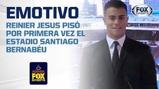 La emotiva presentación de Reinier Jesus con el Real Madrid