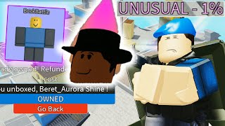 Arsenal Unusual Skins/New Gamemode | ROBLOX